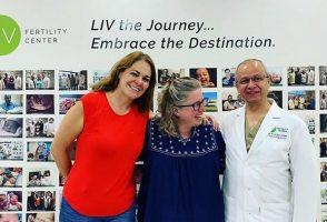 Michelle con el Dr. Vélez 2019